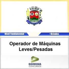 Apostila Santana Cataguases 2017 Operador Máquinas