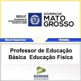 Apostila SEDUC MT 2017 Professor de Educação Física