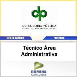 Apostila DPE RS 2017 Técnico Administrativa Download