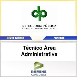 Apostila DPE RS 2017 Técnico Administrativa Download