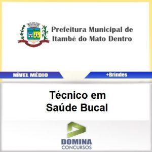 Apostila Itambé Mato Dentro 2017 Técnico Saúde Bucal