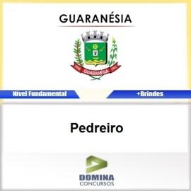 Apostila Concurso Guaranésia MG 2017 Pedreiro