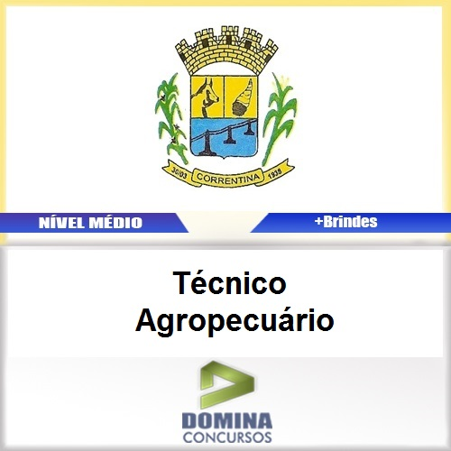 Apostila Correntina BA 2017 Técnico Agropecuário