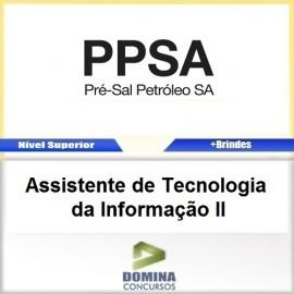 Apostila Pré Sal PPSA 2017 ASS TEC da Informação II