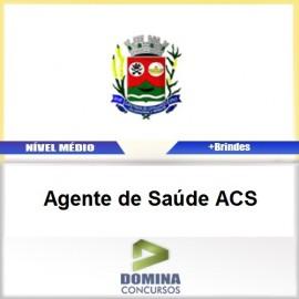 Apostila Santana Cataguases 2017 Agente de Saúde ACS