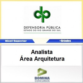 Apostila DPE RS 2017 Analista Arquitetura Download
