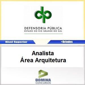 Apostila DPE RS 2017 Analista Arquitetura Download