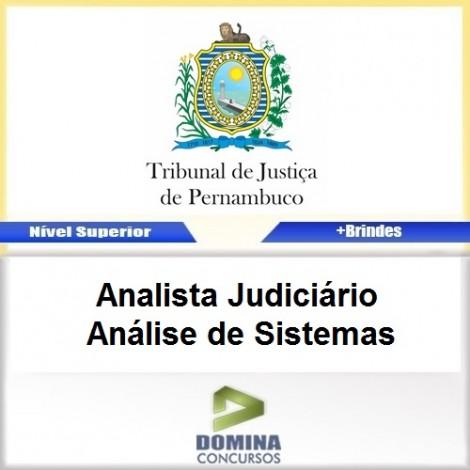 Apostila TJ PE 2017 Analista JUD Análise de Sistemas