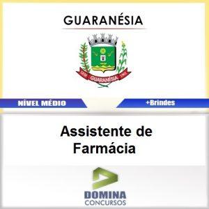 Apostila Guaranésia MG 2017 Assistente de Farmácia