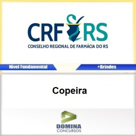 Apostila Concurso CRF RS 2017 Copeira Download