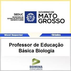 Apostila SEDUC MT 2017 Professor de Biologia