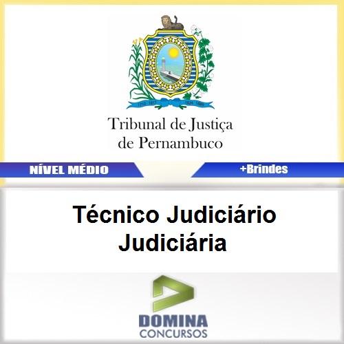 Apostila TJ PE 2017 Técnico Judiciário Judiciária