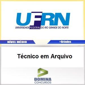 Apostila Concurso UFRN 2017 Técnico em Arquivo