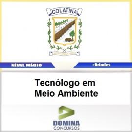 Apostila Colatina ES 2017 Tecnólogo em Meio Ambiente