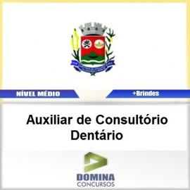 Apostila Santana Cataguases AUX Consultório Dentário