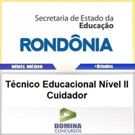 Apostila SEDUC RO 2017 TEC Educacional Cuidador