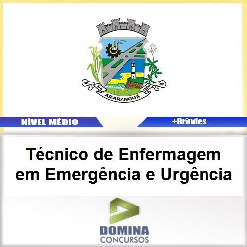 Apostila Araranguá SC 2017 TEC Enfermagem Emergência
