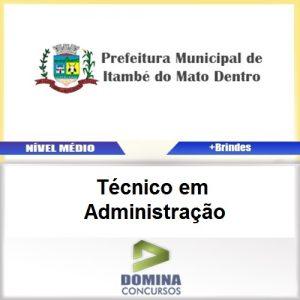 Apostila Itambé Mato Dentro 2017 Técnico Administração