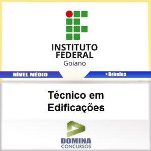 Apostila IF Goiano 2017 Técnico em Edificações
