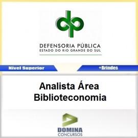Apostila DPE RS 2017 Analista Área Biblioteconomia