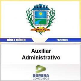Apostila Barbalha CE 2017 Auxiliar Administrativo