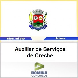 Apostila Santana Cataguases 2017 AUX Serviços Creche