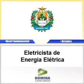 Apostila Colniza MT 2017 Eletricista de Energia Elétrica