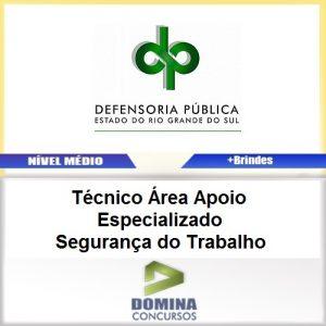 Apostila Concurso DPE RS 2017 TEC SEG do Trabalho