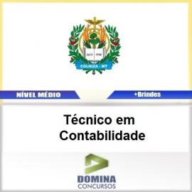 Apostila Colniza MT 2017 Técnico em Contabilidade