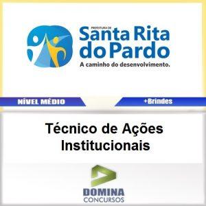 Apostila Santa Rita Pardo 2017 TEC Ações Institucionais