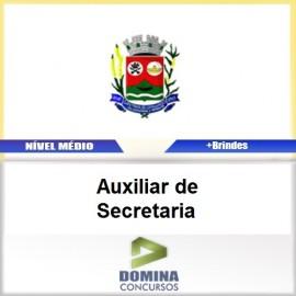 Apostila Santana Cataguases 2017 Auxiliar de Secretaria