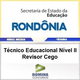Apostila SEDUC RO 2017 TEC EDU Revisor Cego