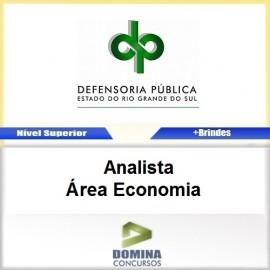 Apostila DPE RS 2017 Analista Área Economia PDF