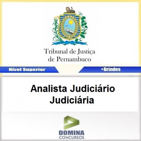 Apostila TJ PE 2017 Analista Judiciário Judiciária
