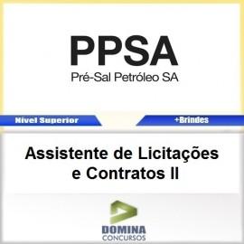 Apostila Pré Sal PPSA 2017 ASS Licitações e Contratos II