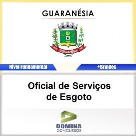 Apostila Guaranésia MG 2017 Oficial de Serviços de Esgoto