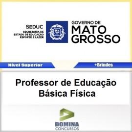 Apostila SEDUC MT 2017 Professor de Física PDF