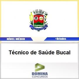 Apostila Santana Cataguases 2017 TEC de Saúde Bucal