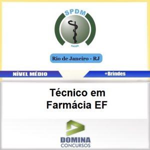 Apostila SPDM RJ 2017 Técnico em Farmácia EF