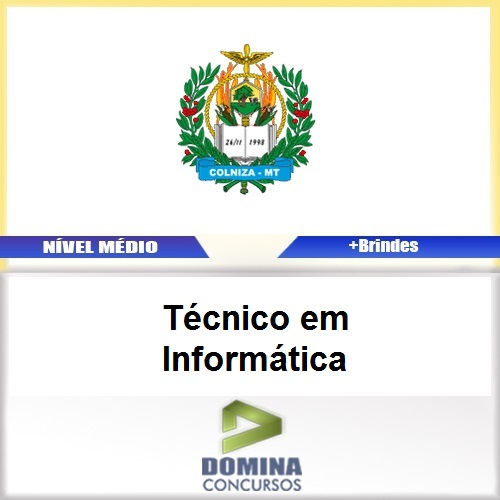 Apostila Colniza MT 2017 Técnico em Informática