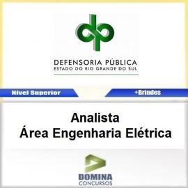 Apostila DPE RS 2017 Analista Engenharia Elétrica