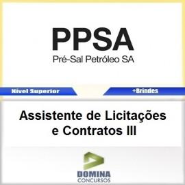 Apostila Pré Sal PPSA 2017 ASS Licitações e Contratos III