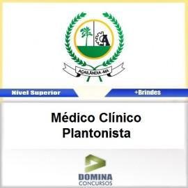 Apostila Açailândia MA 2017 Médico Clínico Plantonista