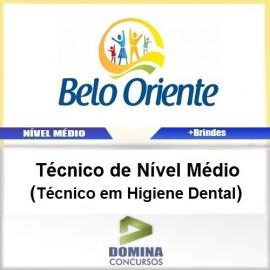 Apostila Belo Oriente MG 2017 Técnico Higiene Dental