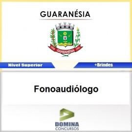 Apostila Concurso Guaranésia MG 2017 Fonoaudiólogo