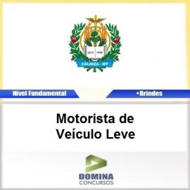 Apostila Colniza MT 2017 Motorista de Veículo Leve