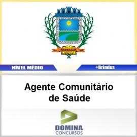 Apostila Barbalha CE 2017 Agente Comunitário de Saúde