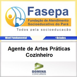 Apostila FASEPA 2017 Agente Artes Práticas Cozinheiro