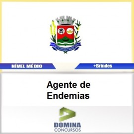 Apostila Santana Cataguases 2017 Agente de Endemias