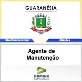 Apostila Guaranésia MG 2017 Agente de Manutenção